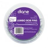 Diane Jumbo Bob Pins, 100 Pack