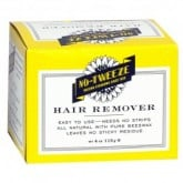 No-Tweeze Hard Wax Hair Remover, 4 oz