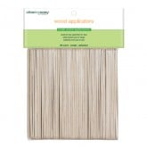 Clean & Easy Small Wood Applicator Spatulas, 100 Count