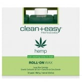 Clean & Easy Hemp Wax Refills Large, 12 Pack