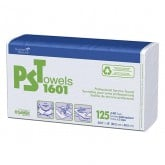 Graham PST Professional Service Towels #1601, 125 Pack (Case of 8)