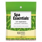 "Spa Essentials 3.5"" Eye/Lip Applicators, 100 Pack"