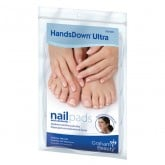 Graham HandsDown Ultra Nail and Cosmetic Pads, 240 Pack