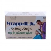 Graham Wrapp-it Junior Styling Strips White, 9 Pack (40 Strips Per Pack)