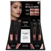 Ardell Beauty Metallic Lip, 12 Piece Display