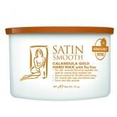 Satin Smooth Calendula Gold Hard Wax with Tea Tree Oil, 14 oz