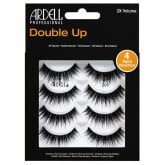 Ardell Double Up 207 Black Strip Lashes, 4 Pack