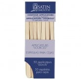 Satin Smooth Contour Applicators, 50 Pack