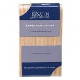 Satin Smooth Large Applicators, 100 Pack