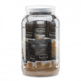 Cuccio Naturale Milk & Honey Butter Sachets, 65 Piece Canister