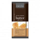 Cuccio Naturale Milk & Honey Butter Sachets, 200 Piece Case