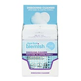 Bye Bye Blemish Water Activated Dissolving Cleanser Sheets, 12 Piece Display