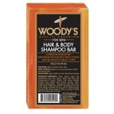 Woody's Hair and Shampoo Body Bar, 8 oz