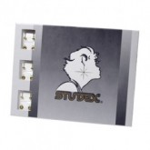 Studex Stainless Steel Silver Studs, 12 Pack
