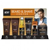 Woody's Beard & Shave Center 18 Piece Display