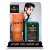 Woody's Just4Play Body Wash & Bar, 6 Piece Display