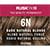 Rusk In 10 Permanent Cream Color, 3.4 oz - 6N Dark Natural Blonde