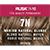 Rusk In 10 Permanent Cream Color, 3.4 oz - 7N Medium Natural Blonde