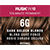 Rusk In 10 Permanent Cream Color, 3.4 oz - 6G Dark Golden Blonde