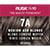 Rusk In 10 Permanent Cream Color, 3.4 oz - 7A Medium Ash Blonde