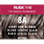 Rusk In 10 Permanent Cream Color, 3.4 oz - 8A Light Sand Blonde