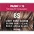 Rusk In 10 Permanent Cream Color, 3.4 oz - 8S Light Sand Blonde